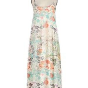 Pastel floral maxi - perfect for a summer wedding!